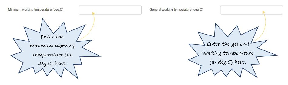 How do I calculate the Wind Chill Temperature Index in the Work Environment section of the Cold Work tab, in OHS Online?