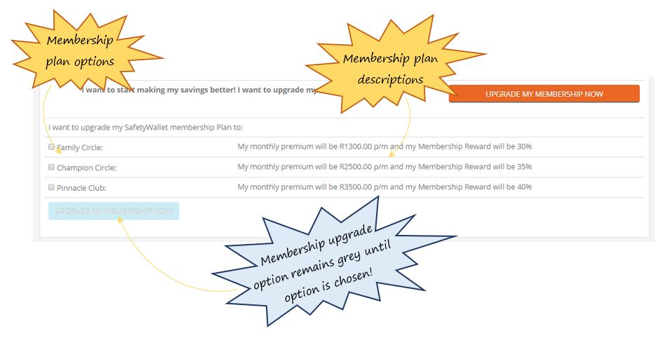 I want to upgrade my membership plan now. How do I do this?