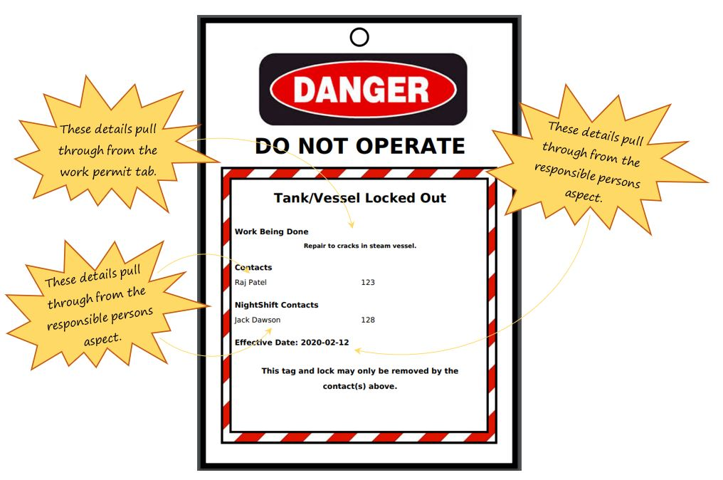 How do I complete the Vessel Isolation Details section in the vessel specific precautions section in the Hot Work tab, in OHS Online?